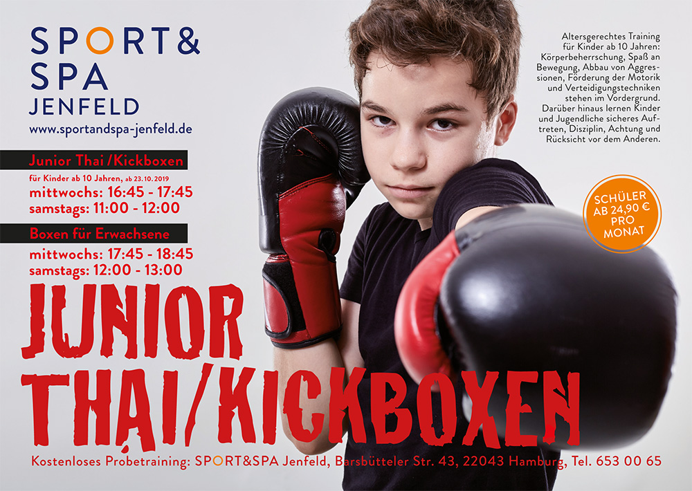 Junior Thai/Kickboxen